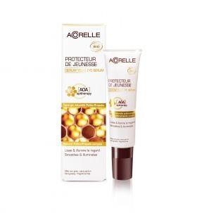 Acorelle - Био антиоксидантен околоочен крем за всеки тип кожа, с Цветен прашец и Прополис, 15 мл.