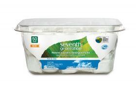 Seventh generation - Натурални капсули за пране без аромат Free & Clear, 50 бр.
